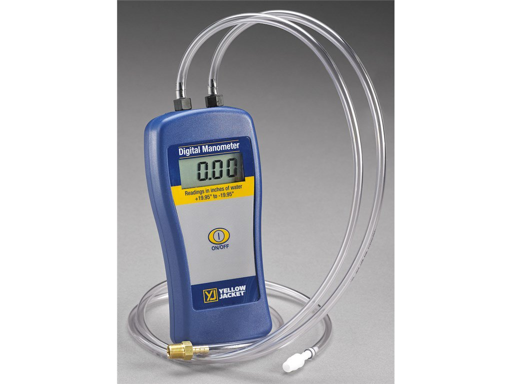 Yellow Jacket 78052 Dual Port Manometer | TEquipment.NET