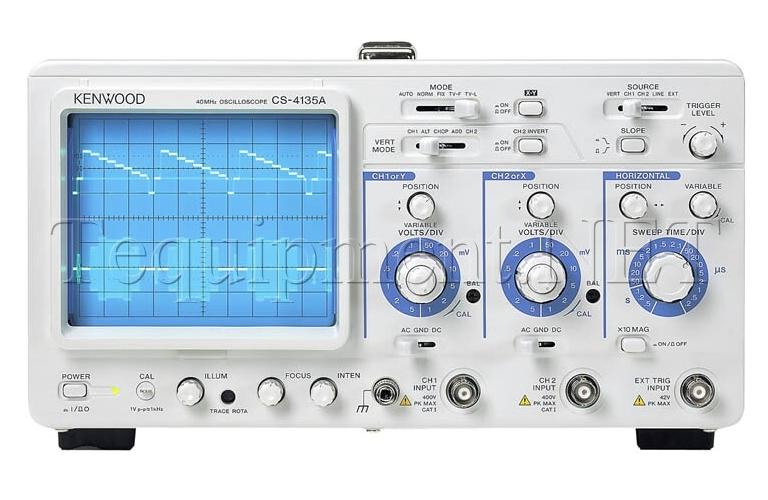 kenwood cs 4135a 2 channel oscilloscope kenwood cs 4135a rh tequipment net User Guide Cover Example User Guide