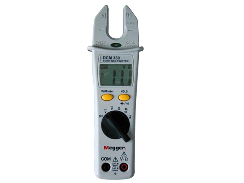 Megger Avo410 Us Digital Multimeter 1000v Dc 750v Ac Voltage Santronics Detectors Quickly Test For Energized Circuits Dcm330