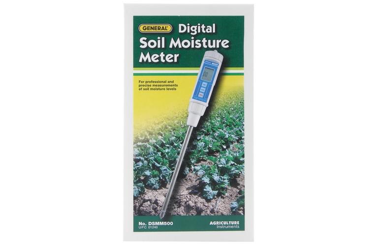 General dsmm500 precision digital soil moisture meter with for Soil moisture meter