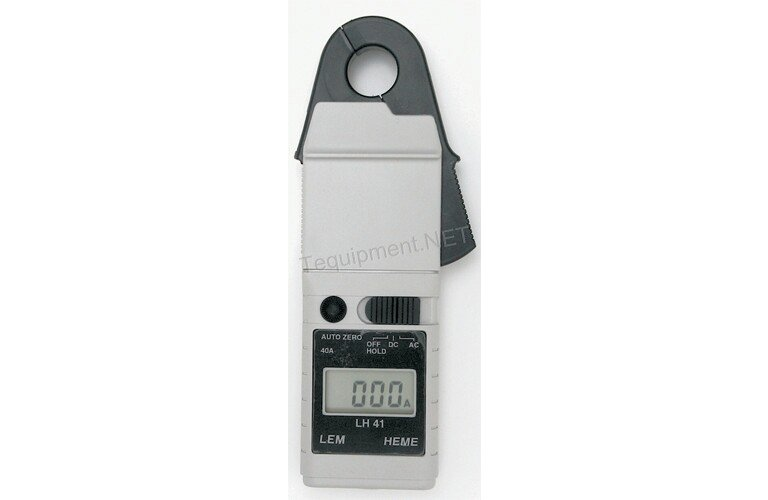Clamp On Ammeter Dc : Fluke lh lem ac dc clamp on ammeter