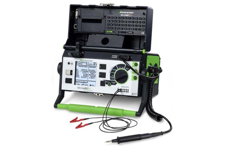 Electrical Leakage Tester : Gossen seculife st m b current leakage tester for