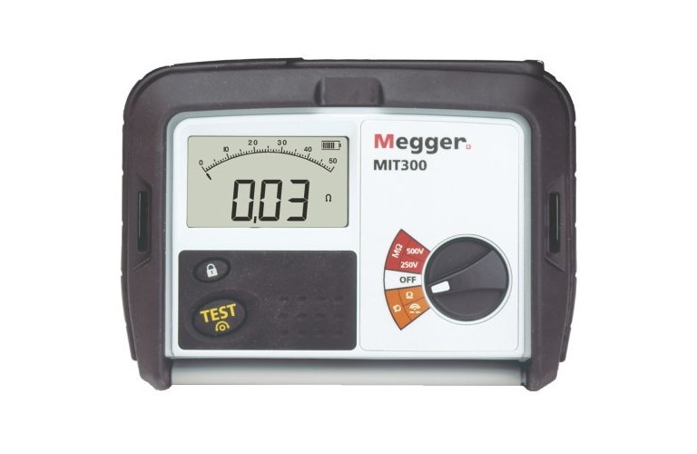 how to use a megohmmeter video