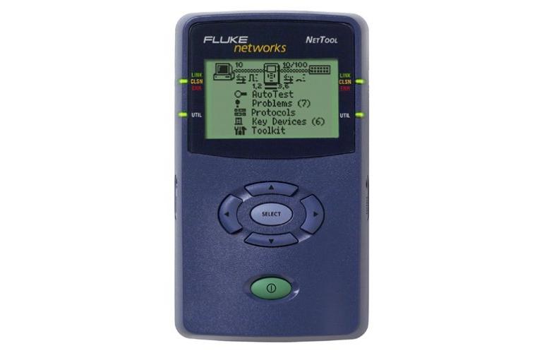 fluke networks nt nettool 10 100 inline network tester fluke nt rh tequipment net fluke nettool 10/100 manual fluke networks nettool manual