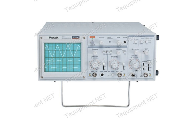 Pro Tek Oscilloscope : Protek p c mhz oscilloscope