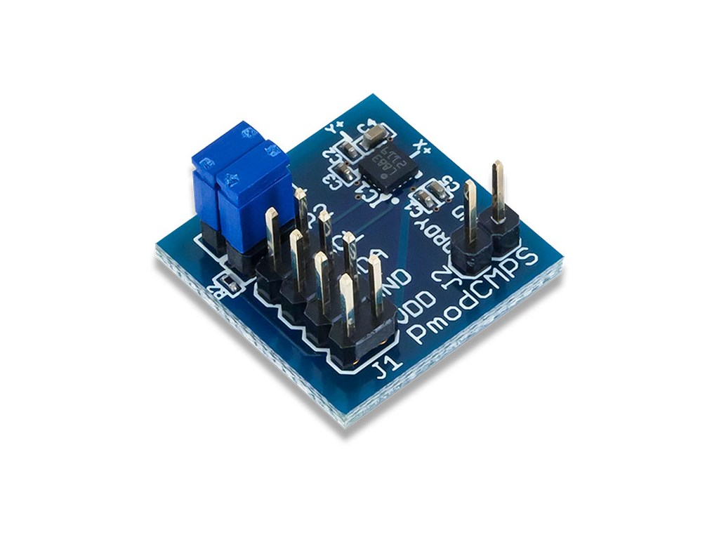 Digilent Pmodcmps 3 Axis Digital Compass Circuit