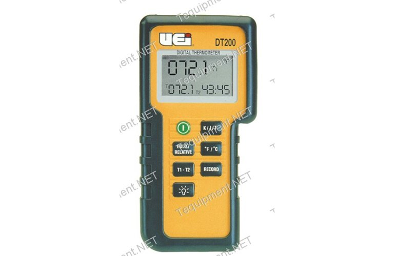 uei dt200 328 to 2498f digital temperature tester with dual input rh tequipment net
