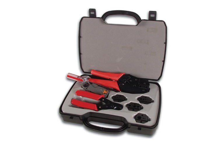 Velleman Vtbncs Coax Tool Set Crimping Cutting And