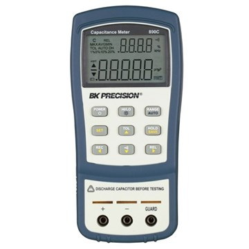 BK Precision 890C Dual Display Handheld Capacitance Meters
