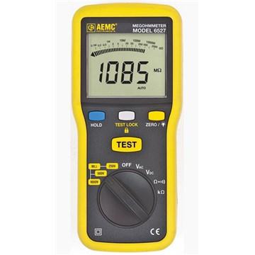 AEMC 6527 4G Ohm, 250V/500V/1000V Digital Megohmmeter