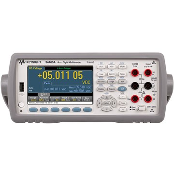 Agilent 34465A 6 1/2 Digit, Performance Truevolt DMM Digital Multimeter - Front View