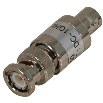 Cal Test CT2944 Feed-Thru Coaxial Terminator, BNC Male To Female Connector, 50 Ohm