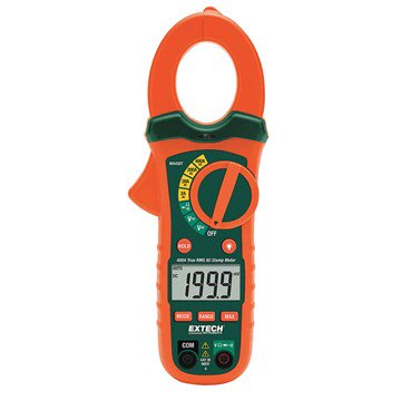 Extech MA430 Series 400A True RMS AC Clamp Meter   NCV