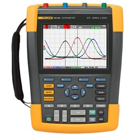 Fluke 190-504/AM/S Color ScopeMeter, 500 MHz, 4 channels