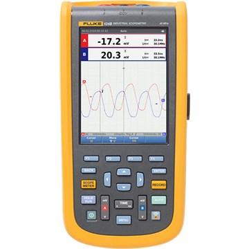 Fluke 124B Industrial ScopeMeter Hand-Held Oscilloscopes
