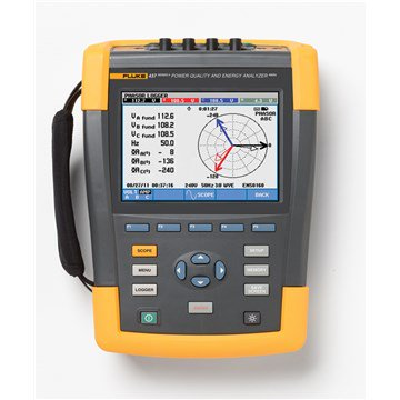 Fluke 437 Power Quality and Energy Analyzer