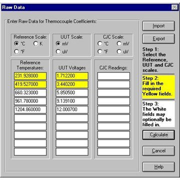 Fluke 9933 TableWare - Temperature Calibration Software