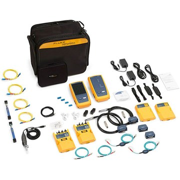 Fluke Networks DSX-5000Qi 120 1 GHZ DSX Series Cable Analyzer with OLTS Quad and Fiber Inspection
