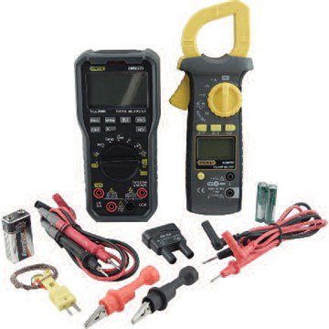 General Tools KHVP57068 Combines A DMM570 Multimeter With A DAMP60 600A AC Clamp Meter