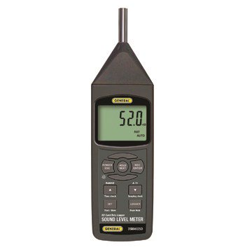 General DSM402SD Class 2 Sound Level Meter With Excel-Formatted Data Logging SD Card