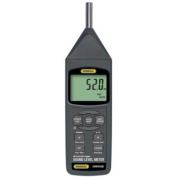General DSM403SD Class 1 Sound Level Meter With Excel-Formatted Data Logging SD Card