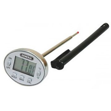 General DWS350SSQ Digital Quick Tip Waterproof Cooking Thermometer