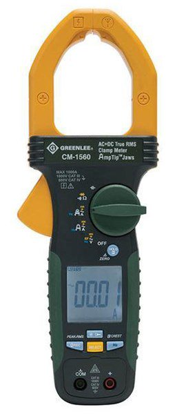 Clamp Meter How Much : Greenlee cm clamp meter ac dc true rms tequipment