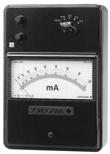 High Frequency Voltmeter : Yokogawa portable high frequency ac ammeters voltmeters