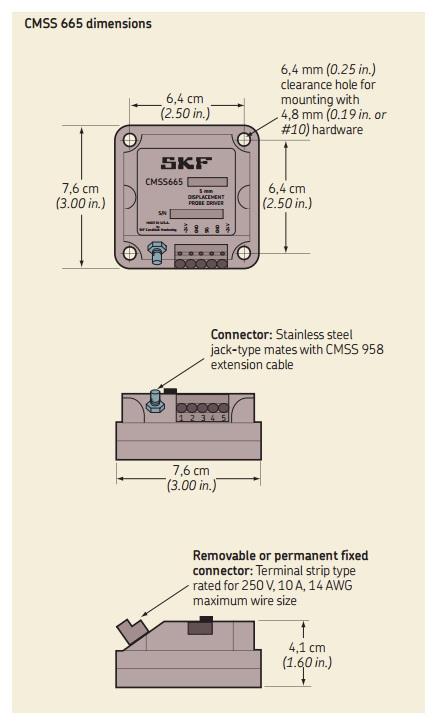 skf cmss 665p 1 general accessories tequipment net relay wiring diagram eddy probe system