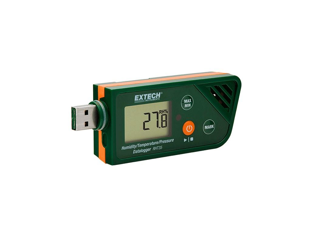 Low Pressure Data Logger : Extech rht pressure datalogger tequipment