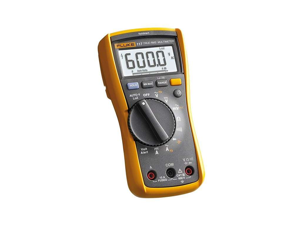 Fluke 117 Electrician S Multimeter With Non Contact