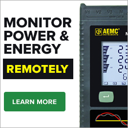 Monitor Power and Energy Remotely - AEMC PEL103