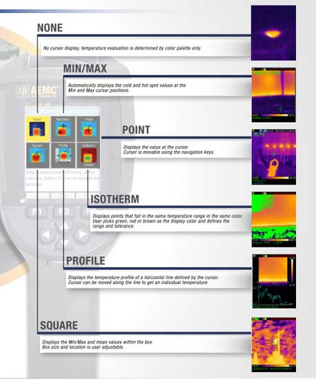 thermal imaging report template - aemc 1950 ir camera thermal imaging tequipment net