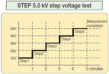 Step-Voltage-Test