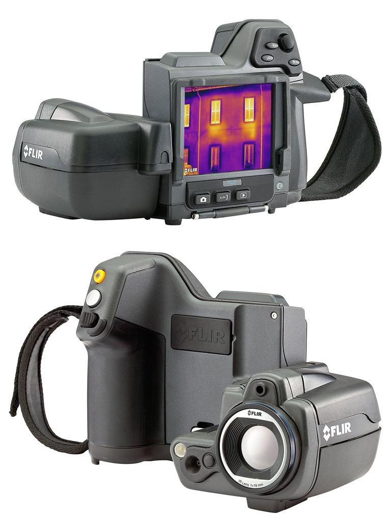 FLIR T420bx infrared camera