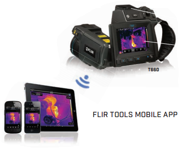 FLIR infrared streaming wireless apple